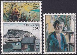FÄRÖER 1985 Mi-Nr. 118/20 ** MNH - Islas Faeroes