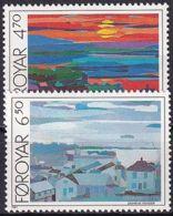 FÄRÖER 1987 Mi-Nr. 160/61 ** MNH - Islas Faeroes