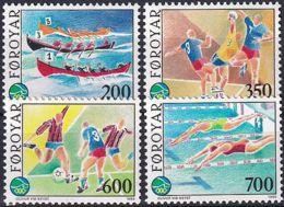 FÄRÖER 1988 Mi-Nr. 186/89 ** MNH - Islas Faeroes