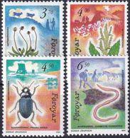 FÄRÖER 1991 Mi-Nr. 211/14 ** MNH - Islas Faeroes