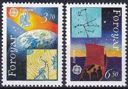 FÄRÖER 1991 Mi-Nr. 215/16 ** MNH - Islas Faeroes