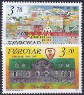 FÄRÖER 1991 Mi-Nr. 217/18 ** MNH - Islas Faeroes
