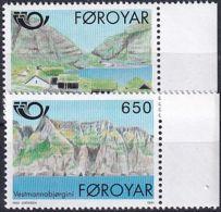 FÄRÖER 1991 Mi-Nr. 219/20 ** MNH - Islas Faeroes
