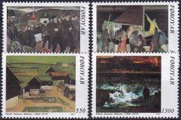 FÄRÖER 1991 Mi-Nr. 223/26 ** MNH - Islas Faeroes