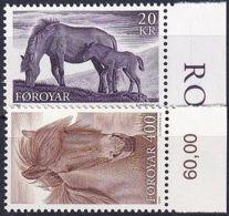 FÄRÖER 1993 Mi-Nr. 250/51 ** MNH - Islas Faeroes