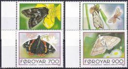 FÄRÖER 1993 Mi-Nr. 252/55 ** MNH - Islas Faeroes