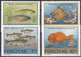 FÄRÖER 1994 Mi-Nr. 256/59 ** MNH - Islas Faeroes