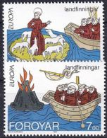 FÄRÖER 1994 Mi-Nr. 260/61 ** MNH - Islas Faeroes