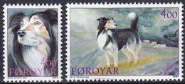 FÄRÖER 1994 Mi-Nr. 262/63 ** MNH - Islas Faeroes