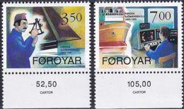 FÄRÖER 1994 Mi-Nr. 264/65 ** MNH - Islas Faeroes