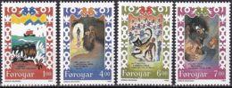 FÄRÖER 1994 Mi-Nr. 266/69 ** MNH - Islas Faeroes