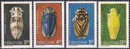 FÄRÖER 1995 Mi-Nr. 272/75 ** MNH - Islas Faeroes