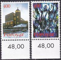 FÄRÖER 1995 Mi-Nr. 289/90 ** MNH - Islas Faeroes