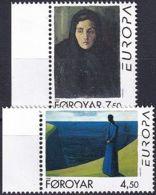 FÄRÖER 1996 Mi-Nr. 296/97 ** MNH - Islas Faeroes