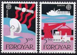 FÄRÖER 1987 Mi-Nr. 166/67 ** MNH - Islas Faeroes