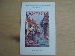 PROGRAMME CONCOURS INTERNATIONAL DE PECHE 29 JUILLET 1956 - Programs