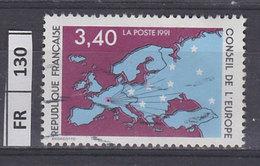 FRANCIA    1991Consiglio D'Europa 3,40 Usato - France