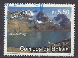 Bolivia - 2007 Mountains, Valle De Zongo, Lama, Mountain Lake, Landscapes, Paysages, Montagnes, Tourism - Used - Aardrijkskunde