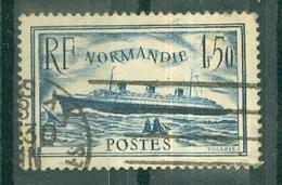 """FRANCE - N° 299 Oblitéré - Paquebot """"Normandie"""". - Francia"""