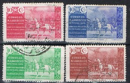 Serie Completa MARRUECOS Español Zona Norte, Beneficencia Mutilados De Guerra, Num 13-16 º - Spanisch-Marokko