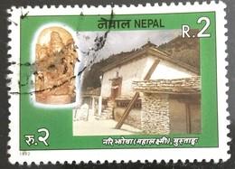 142. NEPAL 1992 USED STAMP HINDU GODDESS (MAHALAXMI) - Nepal
