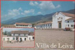 Villa De Leiva (COL). Plaza Principal. Detalle. Vedute. Non Viaggiata. Originale - Colombia