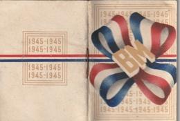Petit Calendrier Au Bon Marché 1945 - Calendriers