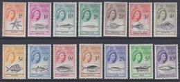 Tristan Da Cunha, TP N° 28 à 41 (étoile De Mer, Poissons Divers, Requin, Baleine, ...), Neufs ** - Tristan Da Cunha