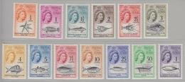 Tristan Da Cunha, TP N° 42 à 54 (étoile De Mer, Poissons Divers, Requin, Baleine, ...), Neufs ** - Tristan Da Cunha
