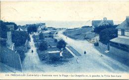 N°9200 -cpa Préfailles -descente Vers La Plage- - Préfailles