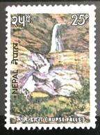 142. NEPAL 1975 USED STAMP RUPSEE FALLS - Nepal