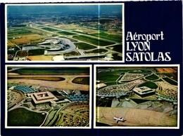 69 .. LYON .. AEROPORT INTERNATIONAL DE LYON - SATOLAS - Aérodromes