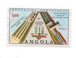 ANGOLA»1966»USED - Angola