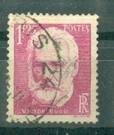 FRANCE - N° 304 Oblitéré - Cinquantenaire De La Mort De Victor Hugo (1802-1885). - Francia