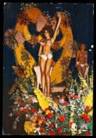 NICE La Bataille De Fleurs La Nuit édition MAR En 1977 Carte Rare - Nice