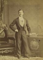 Royaume Uni Le Prince Imperial En Exil Ancienne Photo Cabinet Elliott & Fry 1875 - Oud (voor 1900)