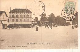 52 - Chaumont - La Place De La Gare - Chaumont