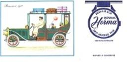 BUVARD  Automobile  Brasier  1910, Marque  Montres  HERMA  MÉDAILLE  D ' OR  EXPO  BRUXELLES  1958 - Vloeipapier