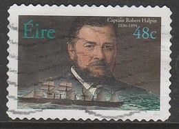 Ireland 2003 Irish Marine Officers - Self-Adhesive Stamps 48c Multicoloured  SW 1541 O Used - 1949-... Republik Irland