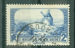 FRANCE - N° 311 Oblitéré - Le Moulin D'Alphonse Daudet. - Francia