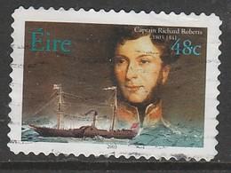 Ireland 2003 Irish Marine Officers - Self-Adhesive Stamps 48c Multicoloured  SW 1542 O Used - 1949-... Republik Irland