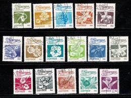 Nicaragua 1983 Yv. 1248/63, Scott 1209/24, Mi 2354/69 Flowers - Nicaragua