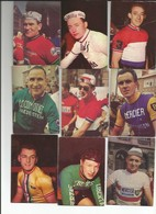 Prentenreeks Suanet 1961-1962 - 10 Stuks (wielrennen - Cyclisme) (65x95mm) - Cycling