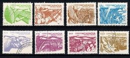 Nicaragua 1983  Yv. 1303/10, Scott 1298/1305, SG 2536/43 Reforma Agraria - Nicaragua