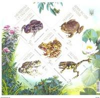 2012. Ukraine,  Frogs And Toads, S/s, Mich.Bl. 104, Mint/** - Ukraine