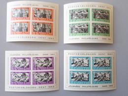 Timbre Belgique : Erinnophilie Bloc E30 à E33 Série Prisonniers 1942 NEUF*   & - Erinnophilie - Reklamemarken