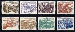 Nicaragua 1987  Yv. 1451/58, Scott 1608/15, SG 2854/61 Reforma Agraria - Nicaragua