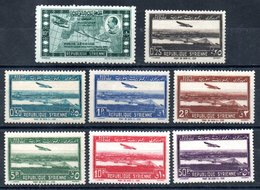 Syrie  Syrien Luftpost Y&T PA 86** - PA 93** - Syrien (1919-1945)