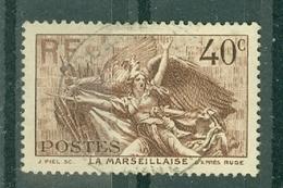 FRANCE - N° 315 Oblitéré - La Marseillaise De Rude (haut-relief De L'Arc De Triomphe. - Francia