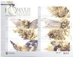 2018. Ukraine, Insects Of Ukraine, S/s, Mint/** - Ukraine
